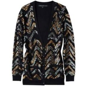 Marc by Marc Jacobs Sequin Cardigan XS